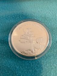 2018 Antigua And Barbuda Rum Runner 1oz Silver In Capsule Mintage 25000 Only
