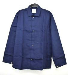 Steiner Navy Blue 1060 Fr Flame Resistant Snap Front Industries Cotton Jacket