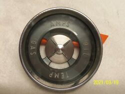 1955 Buick Cluster Gauge Face Plate, Glass And Chrome Bezel 40 Series