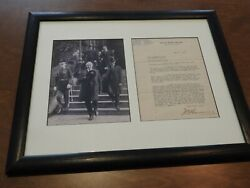 Warren G. Harding Typed Letter Signed - Slams Woodrow Wilson And League Of Nations