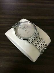 omega Co-axial Chronometer Deville Prestige Silver Adult Watch With Box