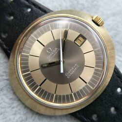 omega Dynamic Automatic Tool107 Gold Genuine Belt Stainless Steel Adult Watch