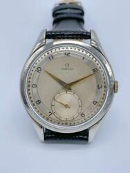 omega Small Second Antique Cal.30t-2 Stainless Steel Adult Watch Japan Shipped