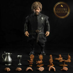 Threezero Game Of Thrones Tyrion Lannister 1/6th Figure Collectible Hot Toy New