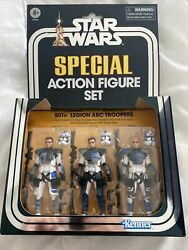 Star Wars Vintage Collection 501st Legion Arc Troopers 3 Pack