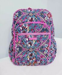 Vera Bradley Campus Backpack Kaleidoscope Quilted NWT $64.50