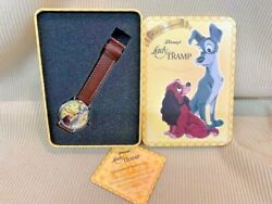 New Lady And The Tramp 50th Anniversary Watch And Collectable Tin