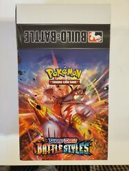 Pokemon Battle Styles Build And Battle Kit Sealed Display Case Build And Battle