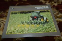 John Deere Hi-cycle Sprayers Cultivators Rotary Hoes For 1988 Brochure Fcca