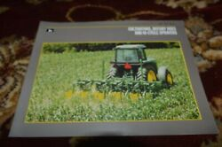 John Deere Cultivators Rotary Hoes And Hi-cycle Sprayers For 1988 Brochure Fcca