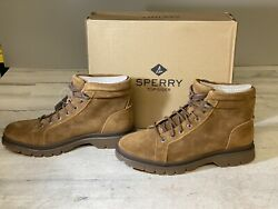 Sperry Watertown Ltt Outdoor Boots Mens Brown Leather Suede Water-resistant 10m