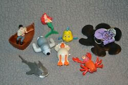 Mcdonaldand039s Disneyand039s The Little Mermaid Complete Set Of 8 Happy Meal Toys