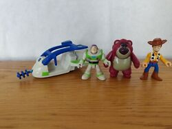Imaginext Toy Story 3 Buzz Lightyear Spaceship Plus Buzz Woody And Lotso Figures