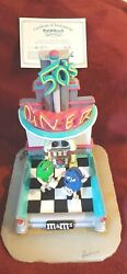 Ron Lee Mandmand039s Blue And Green Artist Poof 50and039s Fifties Diner Item M517