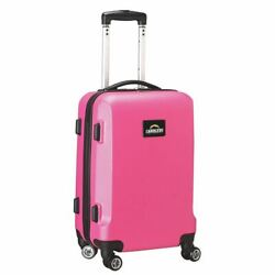 Nfl Los Angeles Chargers 20and039and039 Hardcase Luggage Carry-on Spinner In Pink