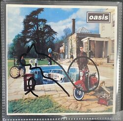 Signed Noel Gallagher Oasis Be Here Now Cd