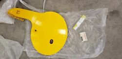 1981 Yamaha Yz Oem Plastic Both Side Covers And Front Number Plate