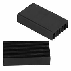 Large Aluminum Heatsink Heat Sink Cooling For Led Amplifier Transistor For Ic