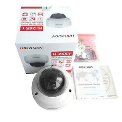 Hikvision 8mp 4k Ip Camera Dome Built-in Mic Ds-2cd2183g0-iu Poe Ir Night Vision