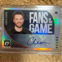 Panini Fans Of Games Chris Evans Autograph Card No.1 Of Limited To 15pcs [mint]