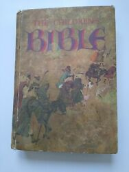 The Childrens Bible Book Vintage Golden Press 1965 Hardcover Illustrated Stories