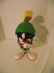 Very Rare 2000 Looney Tunes Marvin The Martian 15'' Statue