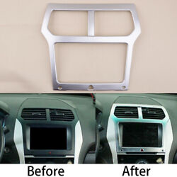Console Central Navigation Gps Cover Trim Decor Fit For Ford Explorer New