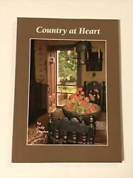 Country At Heart By Judy Condon 2009 Simply Country Series Antiques Home Decor