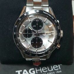 Tag Heuer Cv201k Ba0794 Chronograph Wristwatch Limited Edition For Men With Box