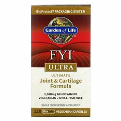 Garden Of Life, Fyi Ultra, Ultimate Joint And Cartilage Formula, 120 Ultrazorbe Ve