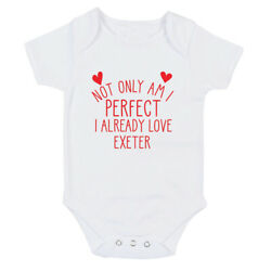 Exeter Perfect I Already Love Baby Grow Body Suit Or One Size Bib