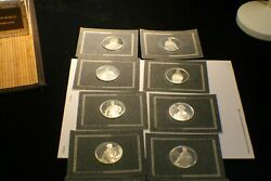 10 Silver Coin National Historical Society Official Presidential Portraits F.m.