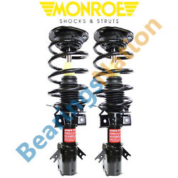 For 2013-2018 Ford Fusion 2.0l Gas Turbocharged Monroe Front Quick Struts Shocks