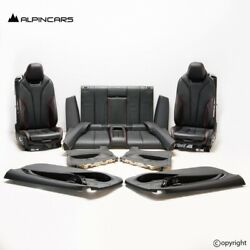 Bmw F33 Innenausstatung Leder Sitze Seats Interior Set Leather Dakota Black Ed32