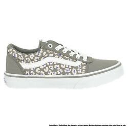 Vn0a3tfwwg51 Ward Cheetah Drizzle / White Preschool Shoes Size 11.5