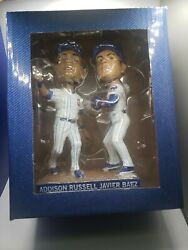 Turning Two Addison Russell Jaiver Baez Chicago Cubs Sga Bobblehead 2017