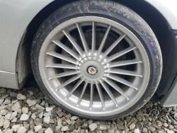 2007 08 Alpina B7 Oem 21 Inch Wheel Set Front And Rear With Caps 20 Spoke Silver