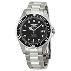 Pro Diver Black Dial Stainless Steel Menand039s Watch 8932