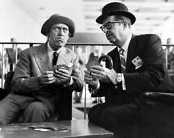 Phil Silvers And Tommy Trinder 1959 Old Photo