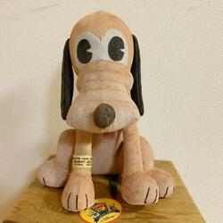 Disney Pluto 70th Anniversary Limited Leather Plush Toy Shipped From Japan
