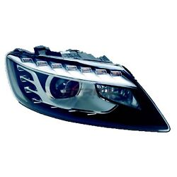 New Right Hid Head Light Lens And Housing Fits Audi Q7 2010-2014 Au2503158