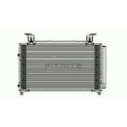 New Ac Condenser With Receiver Drier Fits Honda Odyssey 1999-2004 Ho3030115