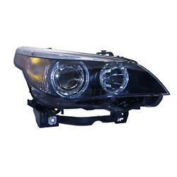 New Right Hid Head Lamp Lens And Housing Fits Bmw 525i 2004-2006 Bm2503124