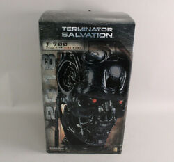 Sideshow Collectibles Terminator Salvation T-700 Life-size Bust Statue Nm In Box