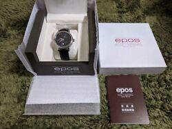 Epos 3391bl Emotion Night Sky Moon Phase Automatic Winding Menand039s Watch