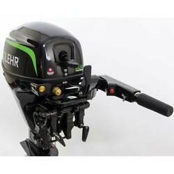 New 9.9 Hp Lehr Outboard Motor Propane Fueled 20 Shaft