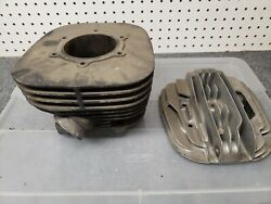 Yamaha Yz 465 Motor. No Piston And Maybe Other Parts Missing.