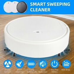3 In 1 Home Sweeping Robot Machine Electric Automatic Vacuum Cleaner Usb Charger