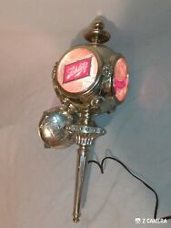 Vintage Schlitz Beer Wall Lamp Carriage Light 1972