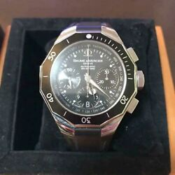 Baume And Mercier 65599 Automatic Self Winding Menand039s Watch With Box Japan Shipped